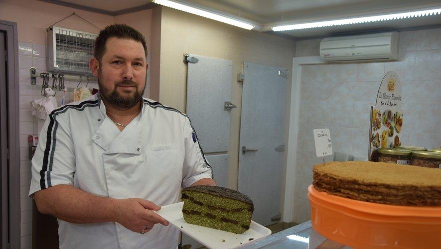 Michaël Puybasset a repris la boucherie de la Grand'rue.