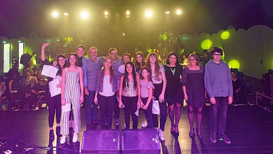 Samedi à Olemps,  4e édition de «Salut les jeunes talents!», à  20h30, à la salle 777.