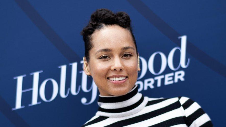 La chanteuse et compositrice américaine Alicia Keys à l'événement Empowerment In Entertainment 2019 du Hollywood Reporter, le 30 avril 2019 à Los Angeles