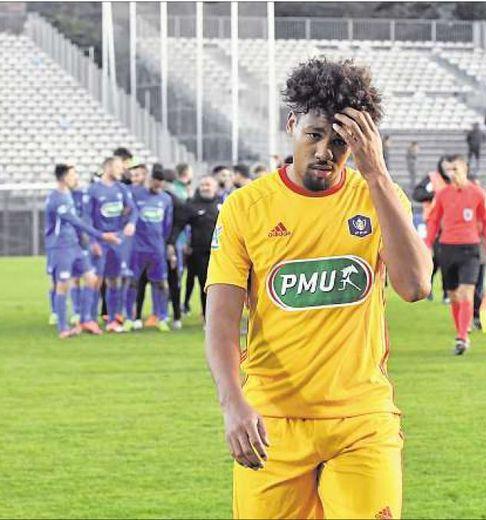 Dorian Caddy et les Ruthénois battus à Sète (2-0) il y a un an.