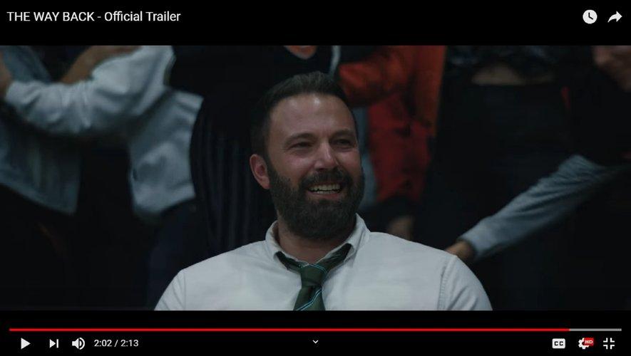 """Ben Affleck incarne le personnage de Jack Cunningham dans """"The Way Back"""" de Gavin O'Connor, au cinéma le 18 mars 2020"""
