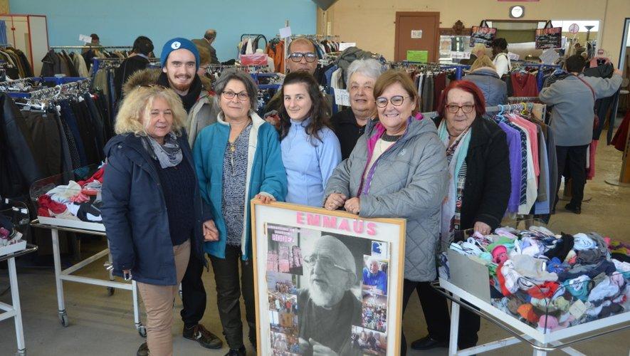 Tous les bénévoles  et les compagnons de la communauté Emmaüs de Rodez seront sur le pont ce samedi pour les 70 ans de l'association.