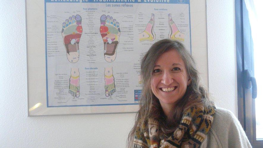 Anaïs Gauffre est réflexologue plantaire et palmaire.