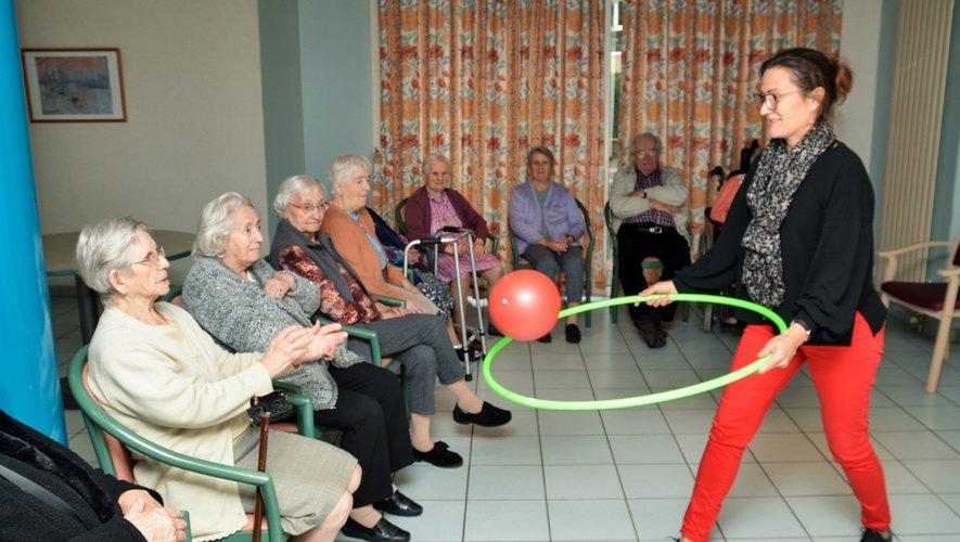 Des activités  adaptées aux capacités de chacun.