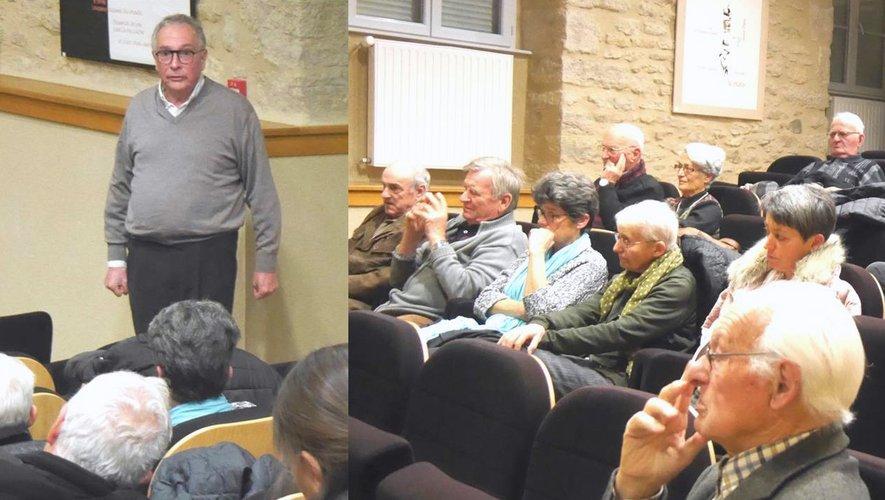 Le public était au rendez-vous pour échanger avec Yves Garric.