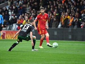 Joris Chougrani, un des rares titulaires contre Lens lundi qui devrait débuter ce samedi à Auch.
