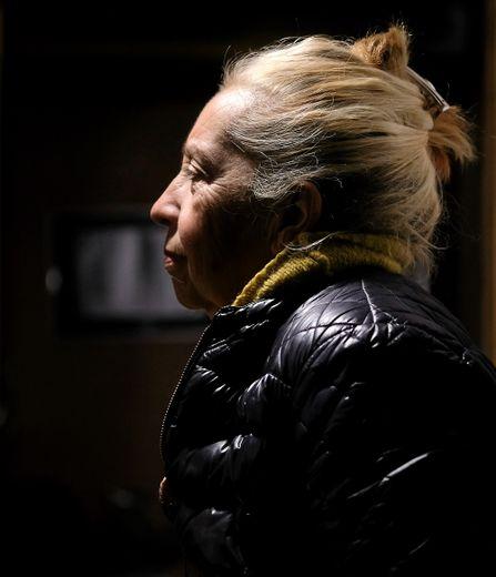 Entre lieu intime et lieu public.  Avec Jeanne à l'écoute.Photos H.L.