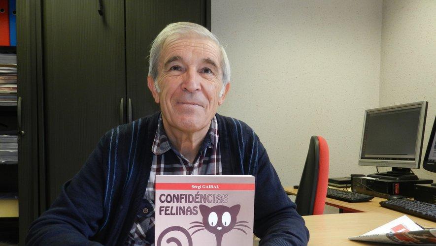 Serge Gayral présenteson dix-huitième livre.