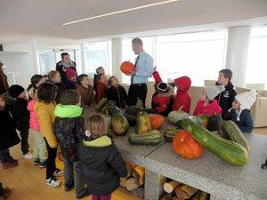 La maison Bras de Laguiole a reçules élèves de Pierrefiche d'Olt.