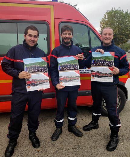La tournée du calendrier des pompiers
