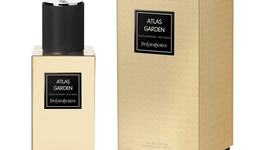 """Le parfum """"Atlas Garden"""" de la collection """"Le Vestiaire des Parfums"""" d'YSL Beauté."""