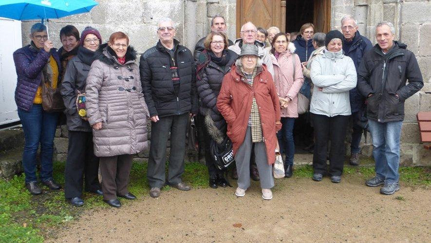 Une visite de l'église de Brommes très appréciée.