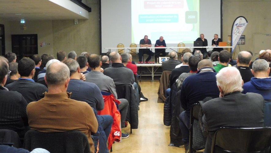 Assemblées générales du comité national et régional à Florentin.