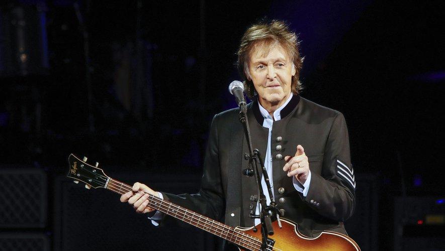 Paul McCartney sera à l'affiche du prochain festival de Galstonbury (Royaume-Uni) pour le 50e anniversaire de cet événement musical emblématique