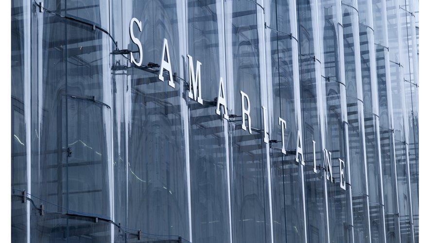 La façade de la nouvelle Samaritaine à Paris