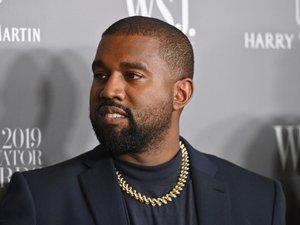 Le rappeur Kanye West à la soirée Innovator Awards 2019 organisée par la magazine WSJ au MOMA, le 6 novembre 2019 à New York