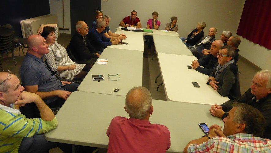 Les Croulants participant à cette réunion animée par Ghislain Bou.