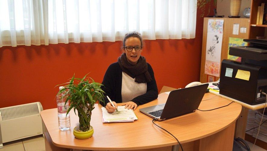 Vanessa Fauchère psychologue aux Caselles.