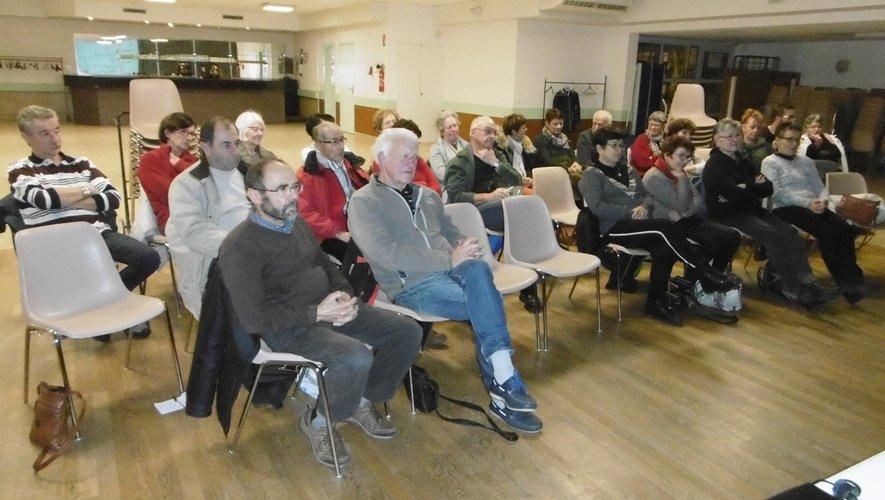 Les participants lors de l'assemblée générale.