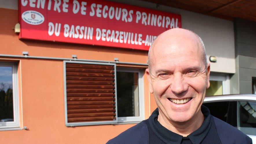 Le capitaine Gilles Gach était auparavant chef de centre adjoint au CSP de Villefranche-de-Rouergue.