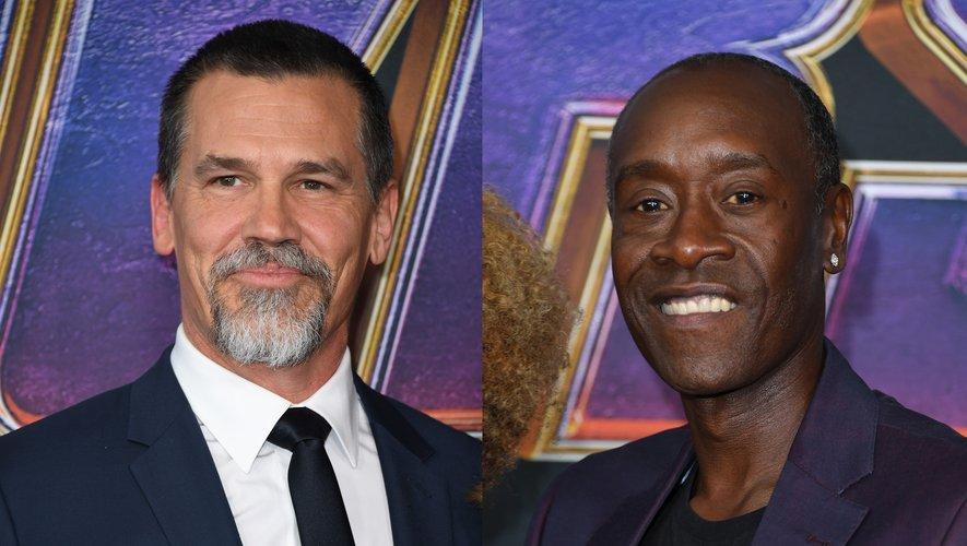 """Josh Brolin et Don Cheadle ont tous les deux été à l'affiche de """"Avengers: Endgame"""" en 2019 aux côtés de Sebastian Stan."""