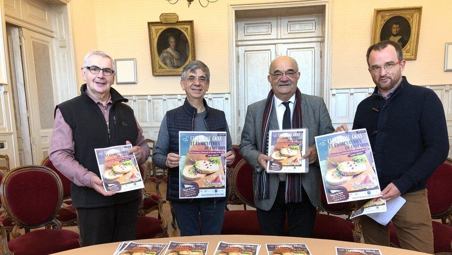 Francis Cardaillac, Serge Roques, Jean-Pierre Benazetet Laurent Saint-Affre.