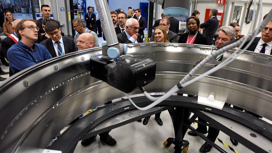 « Il n'y a pas de grande économie sans grande industrie », avait insisté Agnès Pannier-Runacher, en mars dernier, dans la nouvelle usine de Figeac Aéro.