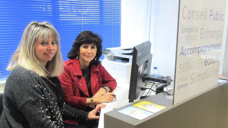 Marina et Brigitte assurent ce service gratuit envers la population.