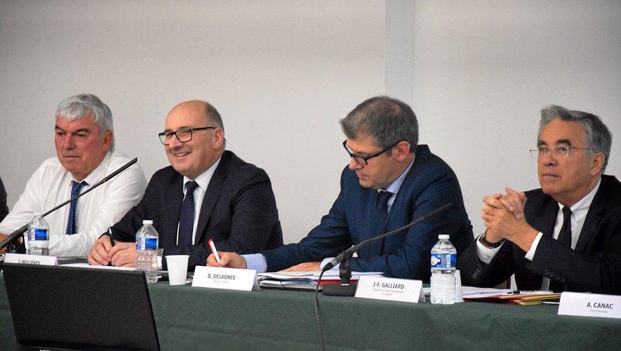 Le président de la chambre d'agriculture, Jacques Molières lors de la session d'hier matin.
