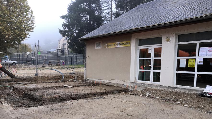 Les travaux du bâtiment des associations viennent de débuter.