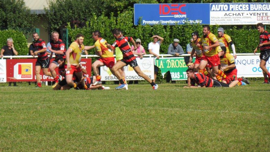 Les rugbymen chez le leader Lisle-sur-Tarn