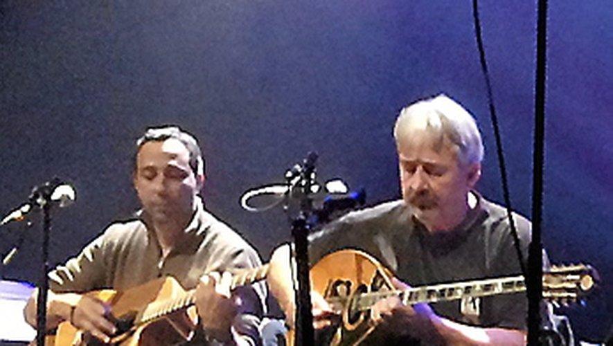 Nicolas Syros, musicien  grec installé à Millau.