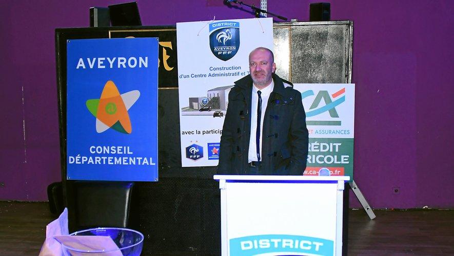 Arnaud Delpal a révélé que l'excédent serait réinvesti dans la construction du nouveau siège du district.