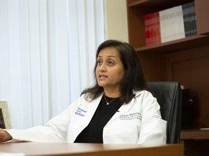 La docteur Mangala Narasimhan