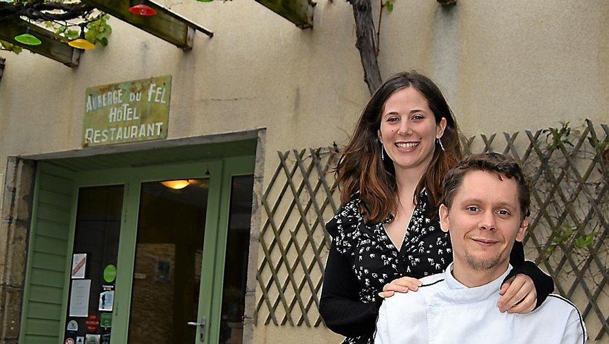 Anaïs Sabatié et David Dret ont succédé à la famille Albespy à la tête de l'Auberge du Fel, une bonne adresse perchée tout en haut du vignoble éponyme.