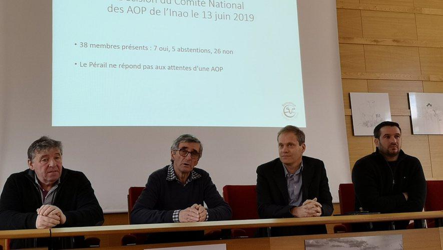 Pierre Gaillac, Jean-François Dombre et Sébastien Leclercqà la défense.