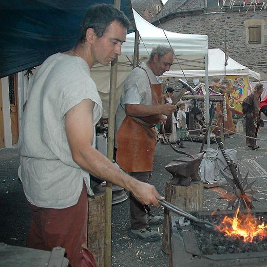 L'association sébazacoise les Lames du savoir fer propose une journée d'animation autour de la forge.