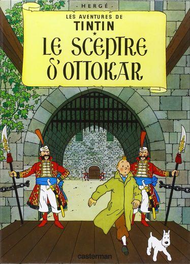 """En début de semaine, chez Christie's à Paris, une planche d'Hergé, tirée du """"Sceptre d'Ottokar"""" (1938), avait été adjugée pour 394.000 euros (frais compris)."""