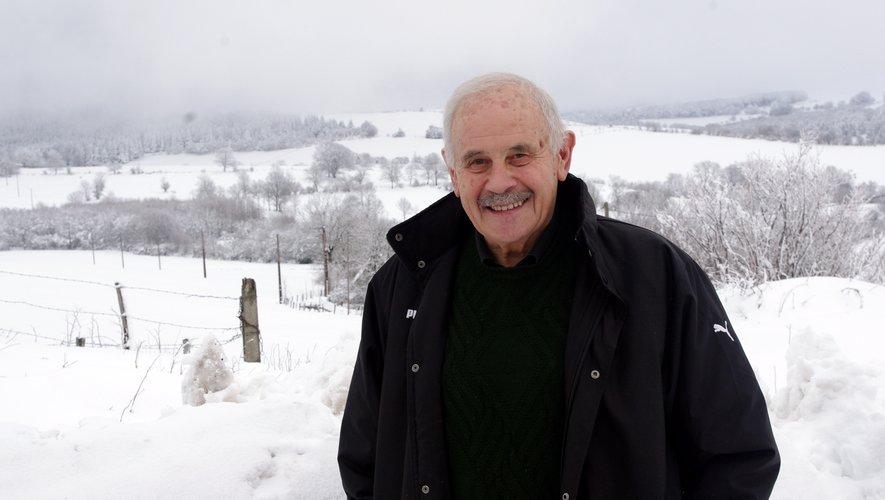 André Valadier, président du PNR de l'Aubrac.
