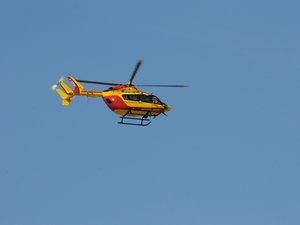 Trois victimes ont été héliportées vers les CH de Montpellier et Millau.