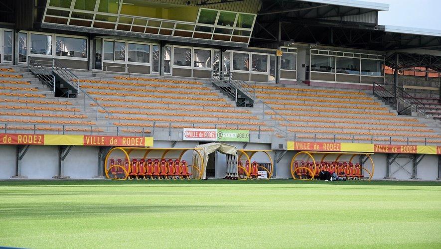 Le stade attend  toujours son homologation, alors qu'il doit accueillir la rencontre Rodez - Le Havre, ce vendredi.