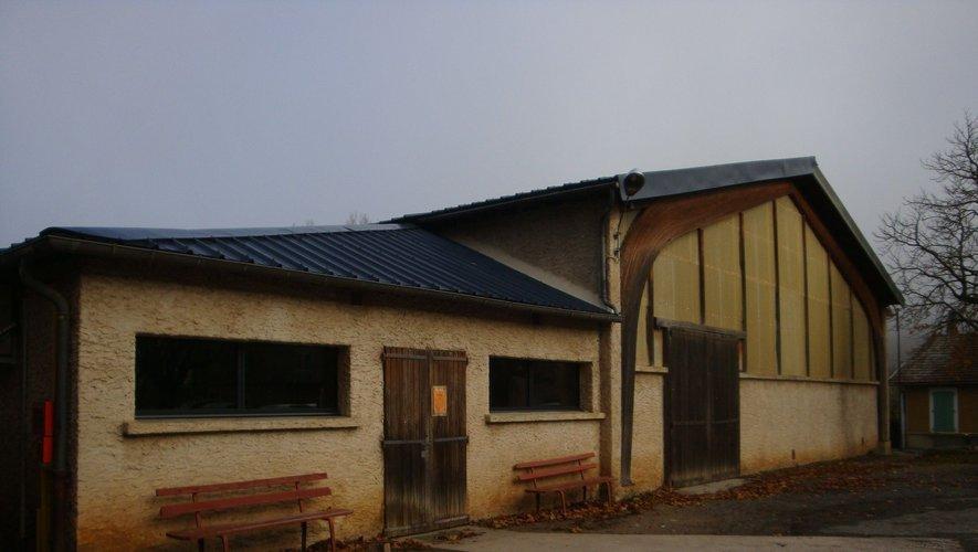 Une partie du film s'est tournée dans le petit hall de Nant.