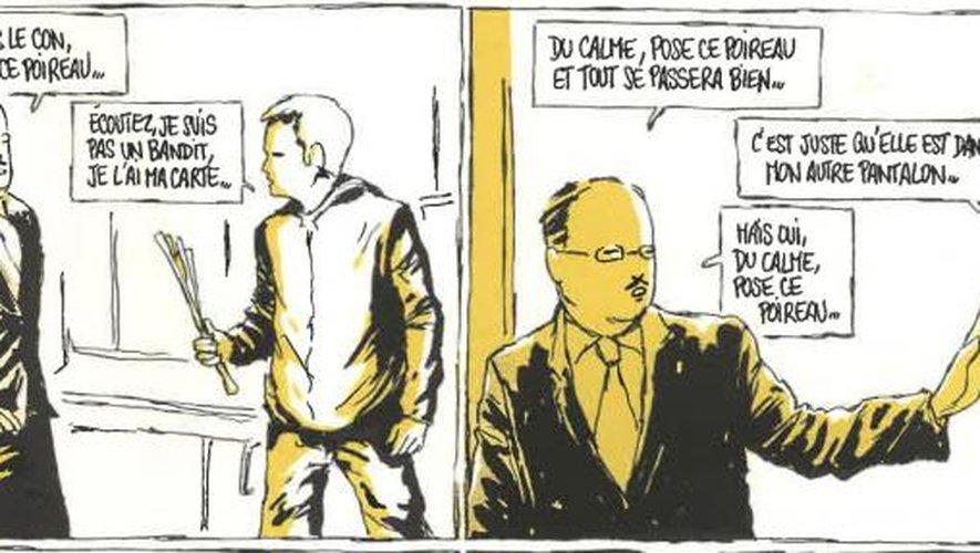 """""""Zaï zaï zaï zaï"""", à l'origine une bande dessinée à l'humour absurde."""