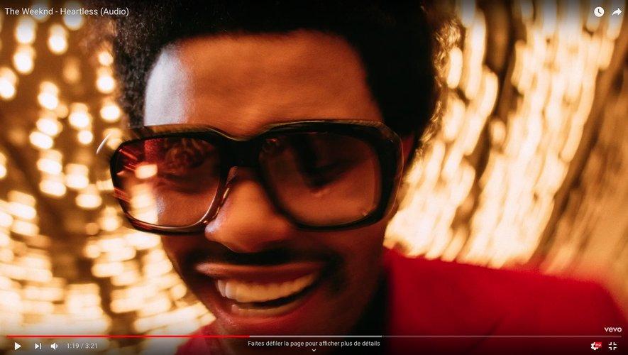 "The Weeknd dans ""Heartless"""
