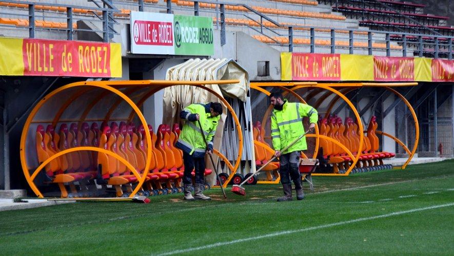 Le stade a fait l'objet de travaux de mise aux normes pour pouvoir accueillir des rencontres de Ligue 2.