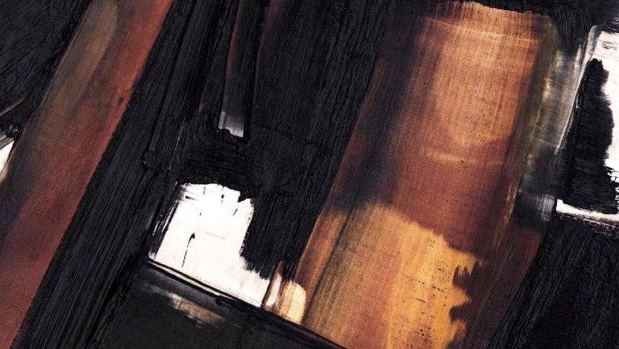 Record mondial pour une peinture de Soulages — Paris