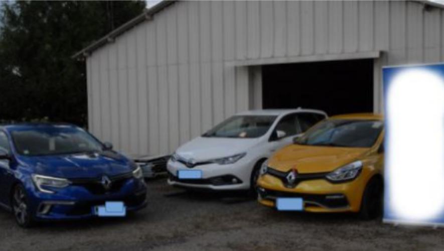 Plusieurs voitures volées ont été saisies à Rodez