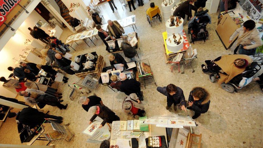 A Rignac, supermarché de l'Art, de vendredi (17 h ) à dimanche (19 h).