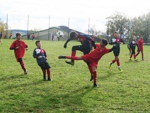 Face à Millau, les U13 de l'USAV gagne 5-1.