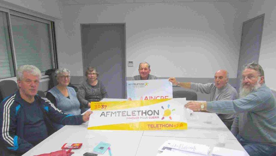 Les bénévoles de l'AFM Téléthonse mobilisent.